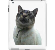 Casper the Cross Eyed Cat iPad Case/Skin