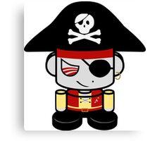 Pirate O'BOT 1.0 Canvas Print