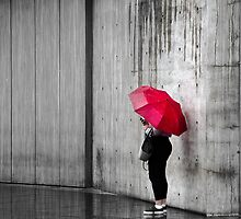 Waiting in the rain by deadpixelphoto