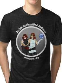 Anime Declassified Podcast Tri-blend T-Shirt