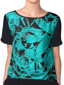 Circles in perspective 10 Chiffon Top