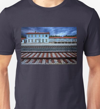 The old train station of Didymoteicho - Greece Unisex T-Shirt