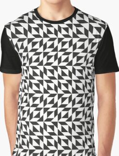 Op art pattern in black and white Graphic T-Shirt