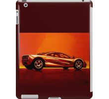 McLaren F1 Painting iPad Case/Skin