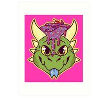 Cupcake Dragon Art Print