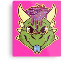 Cupcake Dragon Metal Print