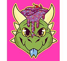 Cupcake Dragon Photographic Print