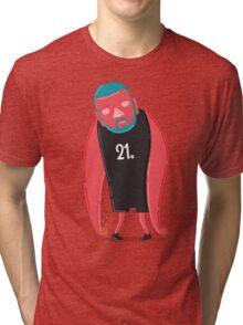Tim Duncan the Fundamental Father Tri-blend T-Shirt