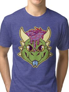 Cupcake Dragon Tri-blend T-Shirt