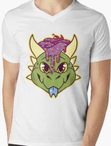 Cupcake Dragon Mens V-Neck T-Shirt