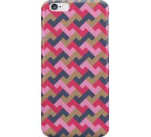 Colorful geometric pattern iPhone Case/Skin