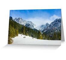 Tatry Greeting Card