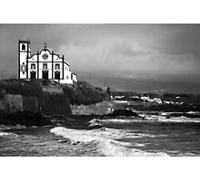 Church by the sea Photographic Print