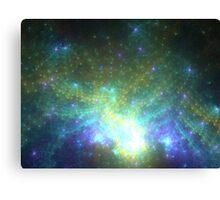 Galaxy - Abstract Fractal Artwork Canvas Print