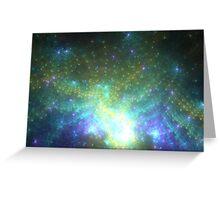 Galaxy - Abstract Fractal Artwork Greeting Card