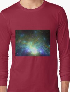 Galaxy - Abstract Fractal Artwork Long Sleeve T-Shirt
