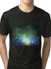Galaxy - Abstract Fractal Artwork Tri-blend T-Shirt