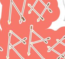 Arrows: 5 Sticker