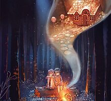 Hansel and Gretel by doublechen