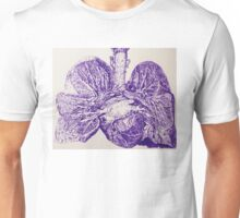 heart and lungs Unisex T-Shirt