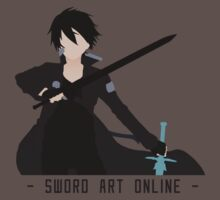 Kirito from Sword Art Online by TheSilentBadger