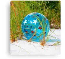 Beach Ball Canvas Print