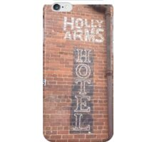 Holly Arms Hotel  iPhone Case/Skin