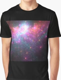 Alien Galaxy - Abstract Fractal Artwork Graphic T-Shirt