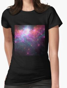 Alien Galaxy - Abstract Fractal Artwork Womens Fitted T-Shirt