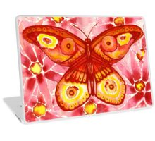 Rose Butterfly Laptop Skin