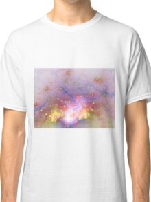 Galactic - Abstract Fractal Artwork Classic T-Shirt