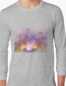 Galactic - Abstract Fractal Artwork Long Sleeve T-Shirt