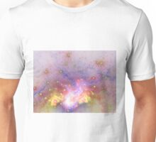 Galactic - Abstract Fractal Artwork Unisex T-Shirt