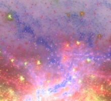 Galactic - Abstract Fractal Artwork Sticker