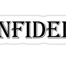 Infidel  Sticker