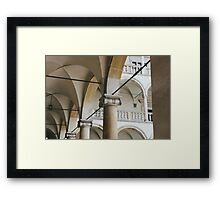 Royal Exterior Framed Print