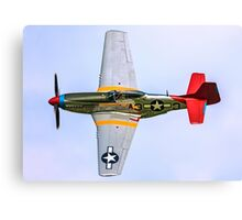 P-51D Mustang 44-72035/A3-3 G-SIJJ Canvas Print