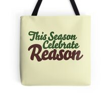 Atheist Seasons Greetings Tote Bag