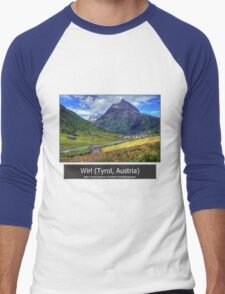Summer trip to Tyrol, Austria Men's Baseball ¾ T-Shirt