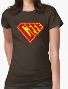 Geek Power Womens Fitted T-Shirt