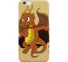 Dragon superhero cartoon iPhone Case/Skin