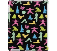 Rainbow Yoga Pattern iPad Case/Skin