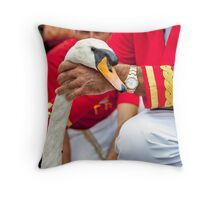The Queens Swan Marker Throw Pillow