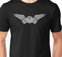 bowling winged Unisex T-Shirt
