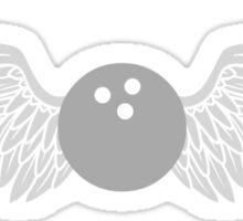 bowling winged Sticker