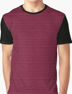 Anemone Wood Grain Texture Color Accent Graphic T-Shirt