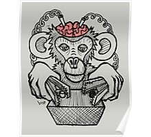 Shock the Monkey Poster