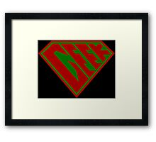 Geek Power (RBG Edition) Framed Print
