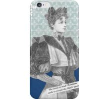 Want a Christmas Card? iPhone Case/Skin