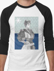 Want a Christmas Card? Men's Baseball ¾ T-Shirt